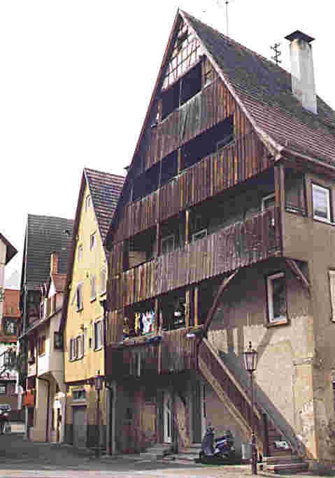 Gerberhaus in der Nähe der Zehtscheuer